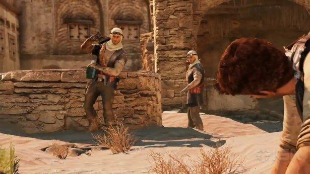 Геймплей Uncharted 2 игра в жанре приключенческий боевик с видом от третьего лица