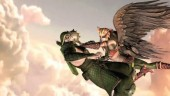 Green Arrow vs Hawkgirl